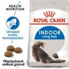 Royal Canin INDOOR LONGHAIR -  granule pro kočky žijící uvnitř a zdravou srst