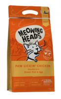 Meowing Heads  PAW LICKIN´ chicken