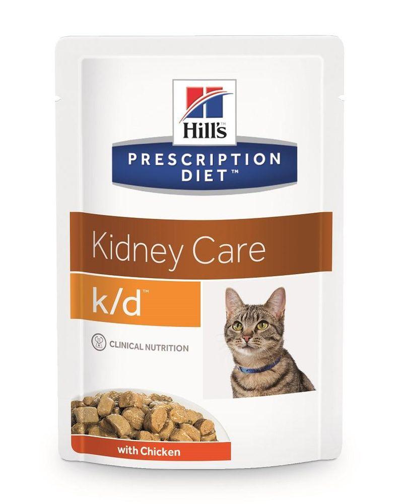 Hills cat k/d kapsa/chicken - 85g