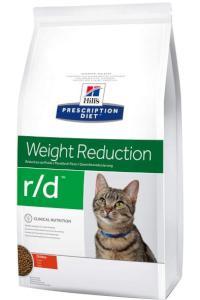 Hills cat  r/d  weight loss