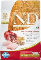 N&D cat LG NEUTERED CHICKEN / POMEGRANATE