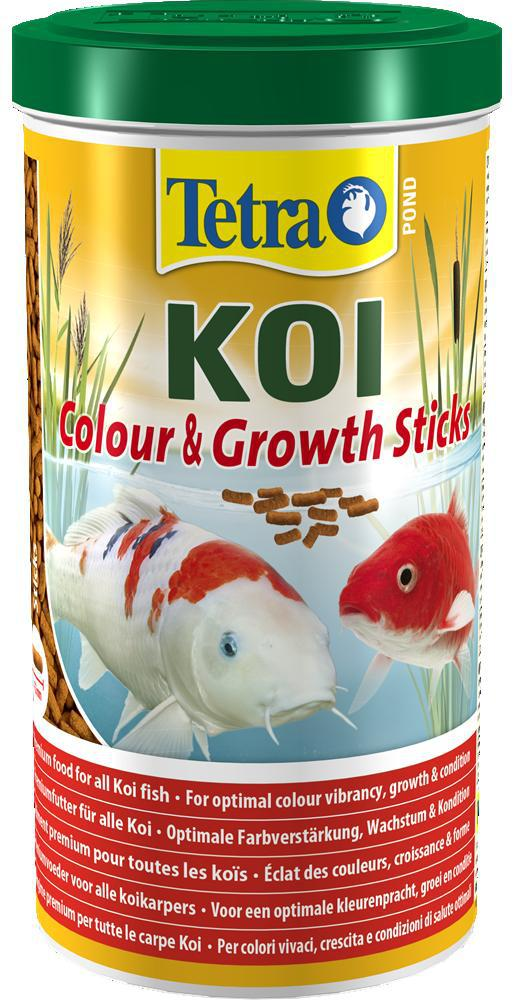 Tetrapond koi colour growth sticks for Koi pond sticks
