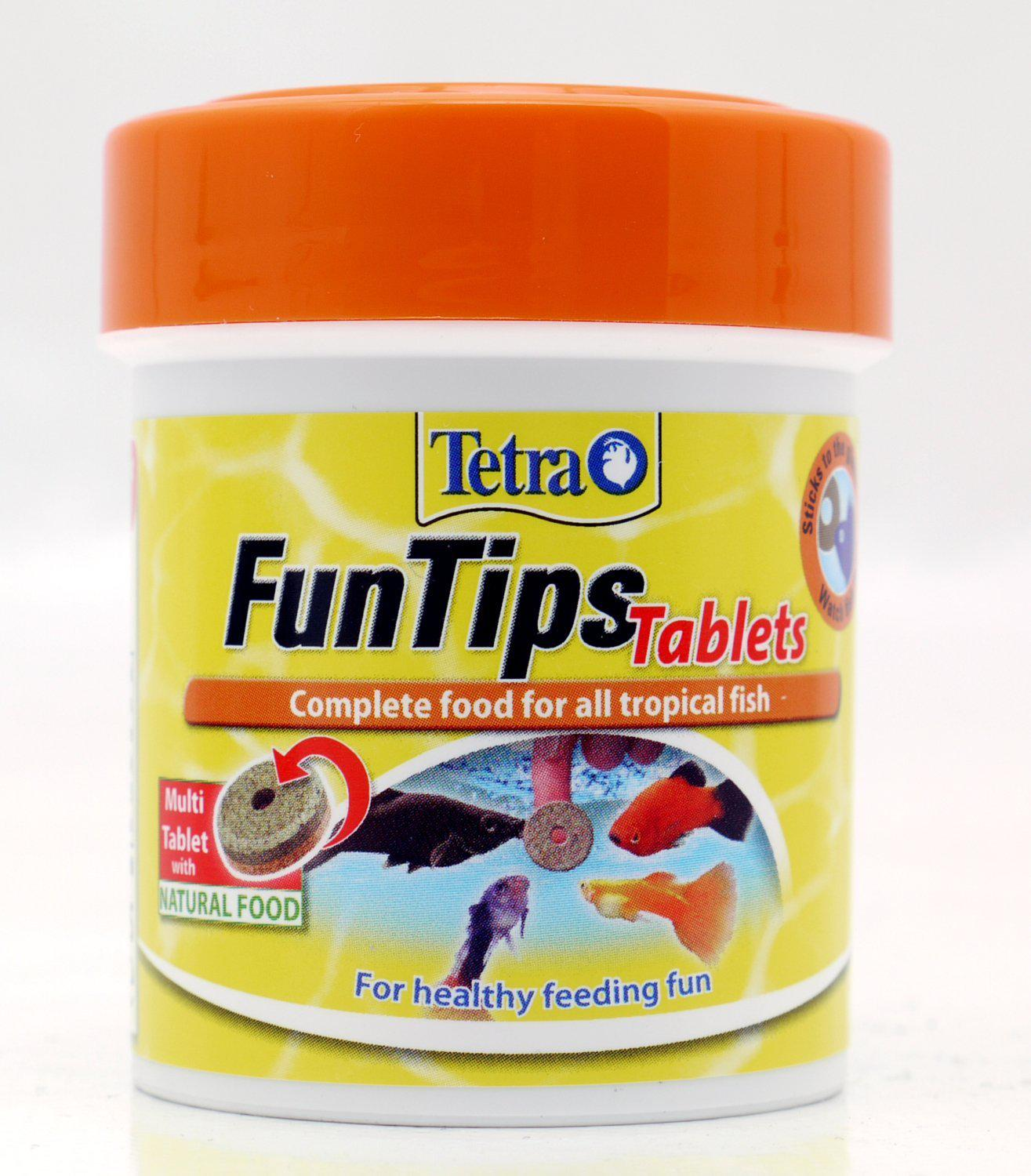 Tetra FUNTIPS TABLETS - 30g/66ml/75tbl