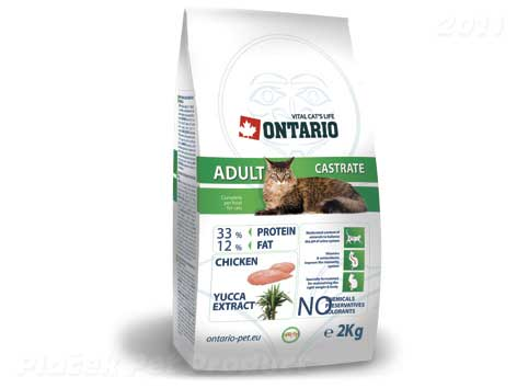 ONTARIO cat  CASTRATE - 2 kg