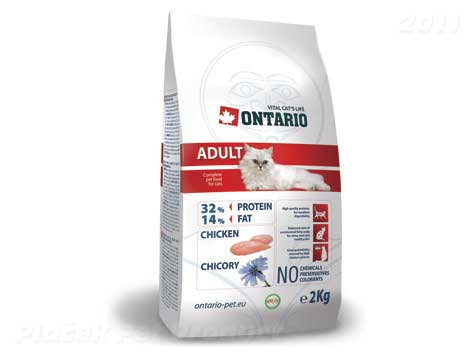 ONTARIO cat  ADULT chicken - 2 kg