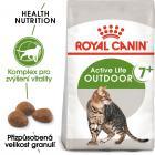 Royal Canin cat  OUTDOOR + 7 - granule pro stárnoucí kočky s častým pohybem venku