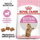 Royal Canin cat  KITTEN STERILISED - granule pro kastrovaná koťata