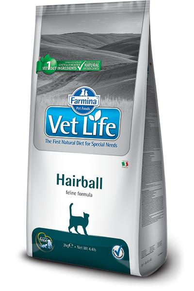 VET LIFE cat HAIRBALL natural - 2kg