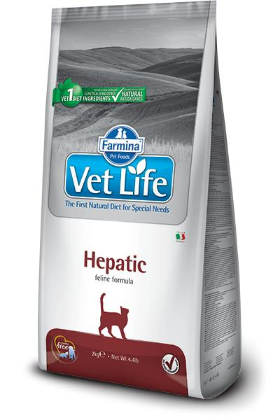 VET LIFE cat HEPATIC natural - 2kg
