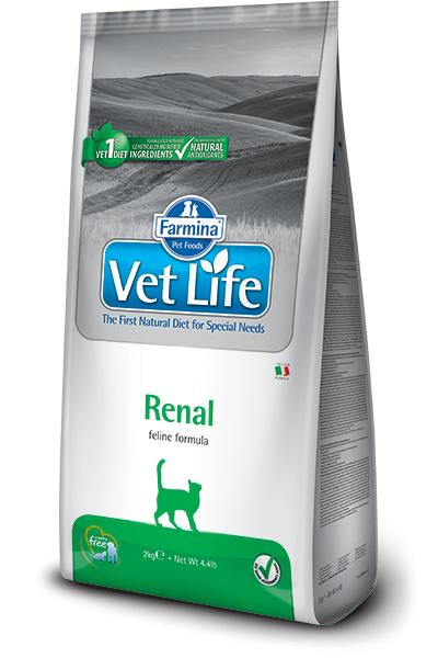VET LIFE cat RENAL natural - 2kg