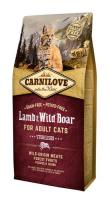 CARNILOVE cat   ADULT lamb/wild boar