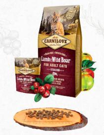 CARNILOVE cat   ADULT lamb/wild boar
