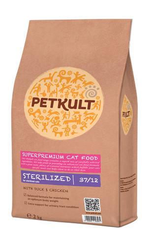 PETKULT cat STERILIZED - 2kg