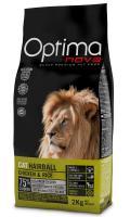 OPTIMAnova cat  HAIRBALL chicken/rice