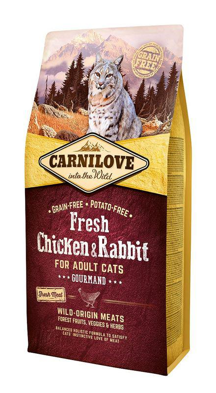 CARNILOVE cat   FRESH ADULT CHICKENrabbit   - 2 x 6kg
