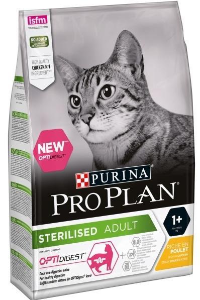 PROPLAN cat  STERILISED chicken - 3kg
