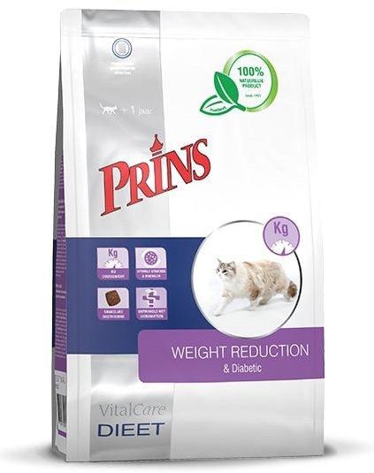 PRINS VitalCare Veterinary Diet WEIGHT REDUCTION & Diabetic - 5 kg