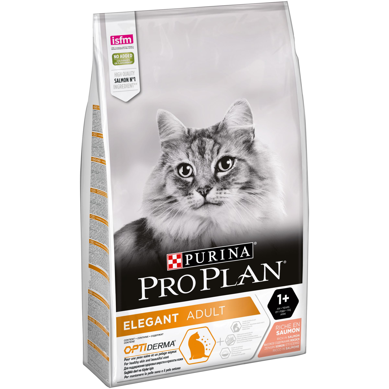 PROPLAN cat ELEGANT adult DERMA SALMON - 10 kg