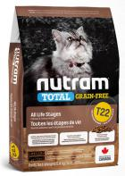 NUTRAM cat  T22 - GF CHICKEN/turkey
