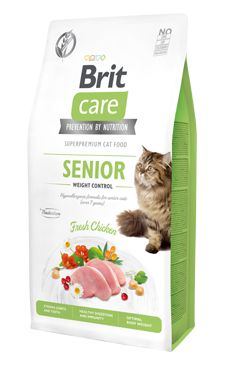 BRIT CARE cat GF SENIOR weight control - 7kg