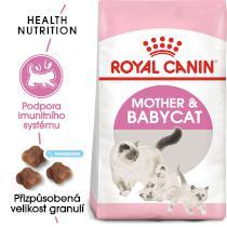 Royal Canin cat Mother&Babycat - granule pro březí nebo kojící kočky a koťata