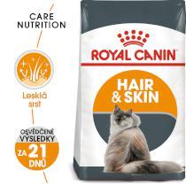 Royal Canin  cat Hair and Skin Care - granule pro kočky pro zdravou srst a kůži