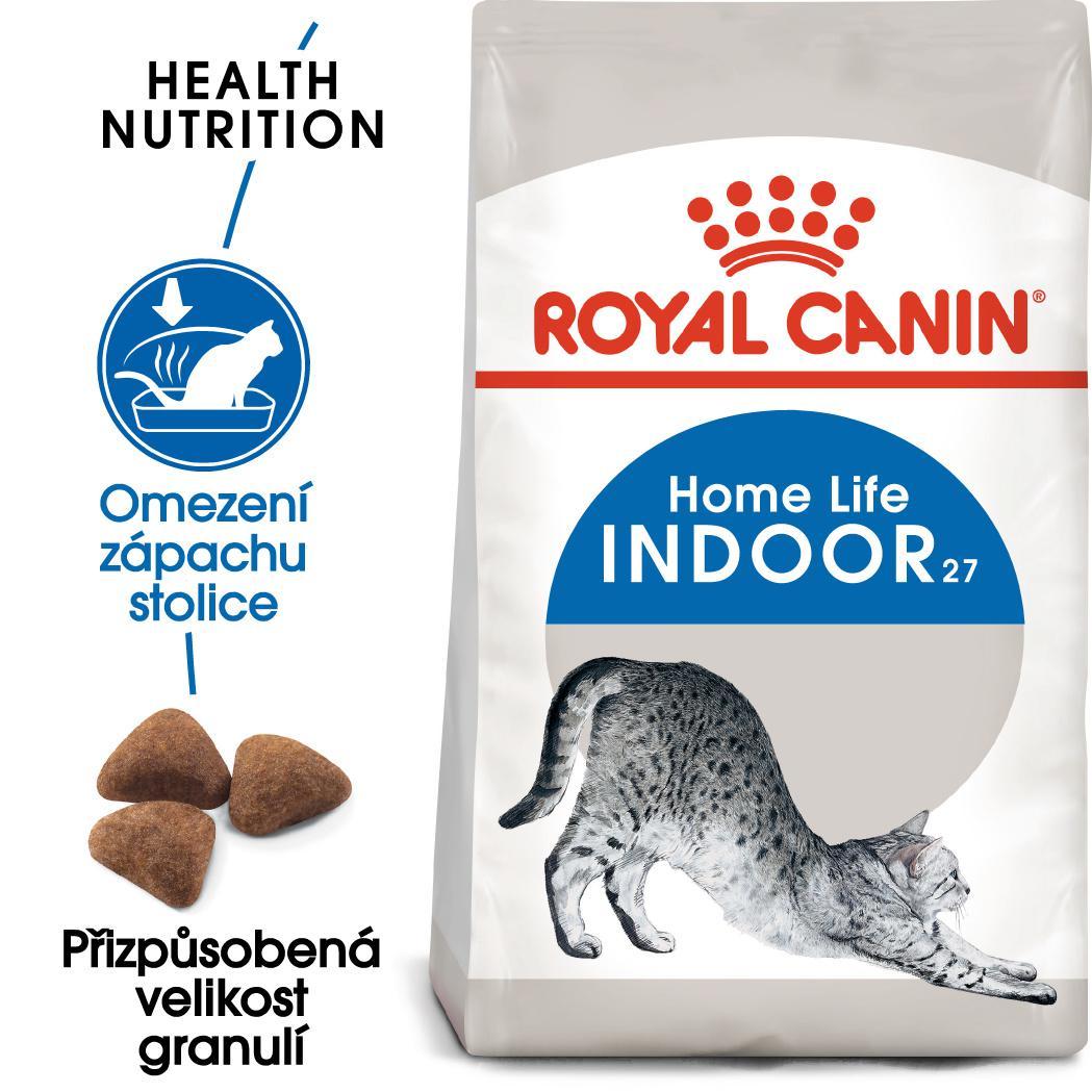 Royal Canin INDOOR - granule pro kočky žijící uvnitř - 400g