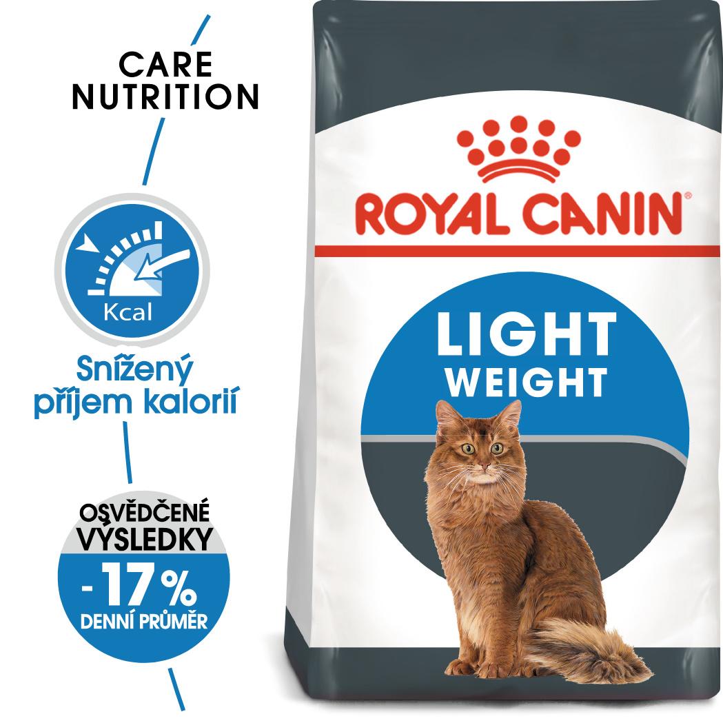 Royal Canin cat Light Weight Care - dietní granule pro kočky - 8kg
