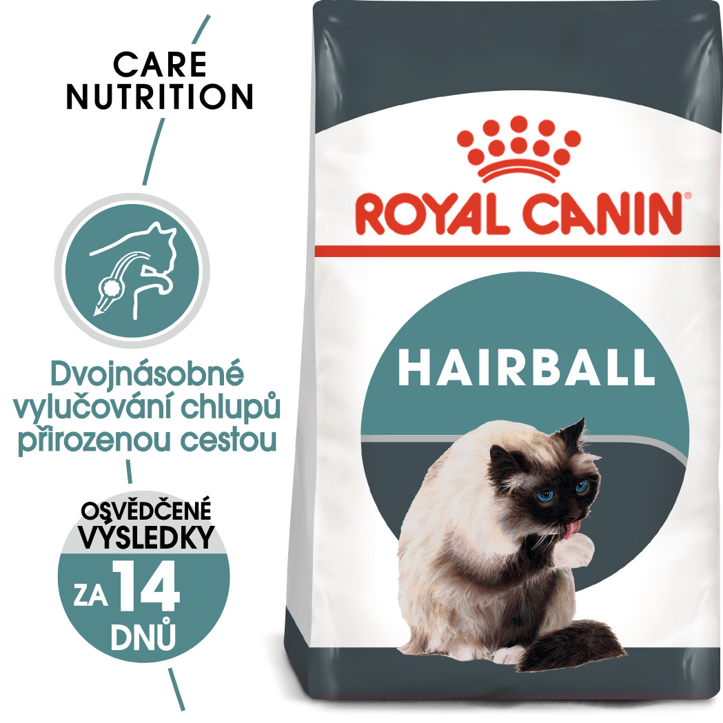 Royal Canin cat Hairball Care - granule pro kočky pro správné vylučování - 400g