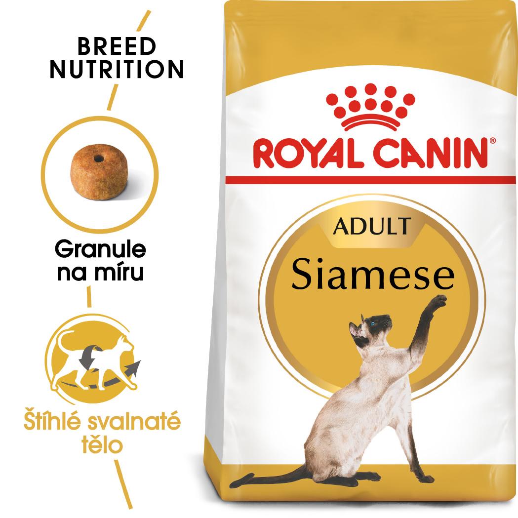 Royal Canin Siamese Adult granule pro siamské kočky - 2kg