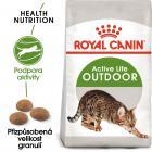 Royal Canin OUTDOOR - granule pro kočky s častým pohybem venku