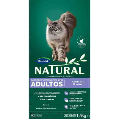 NATURAL cat ADULT - 7,5kg