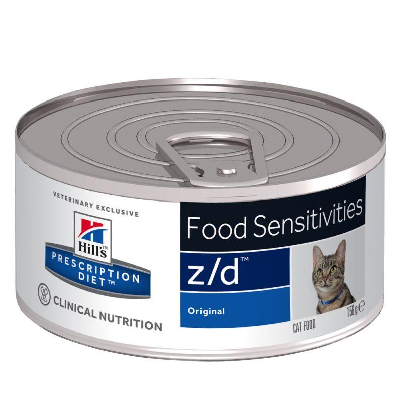 Hills cat  z/d   konz. Ultra Allergen Free - 156g