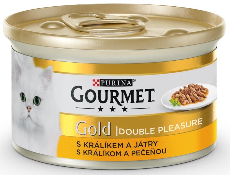 PURINA GG double pleasure  KRÁLÍK/JÁTRA konzerva - 85g