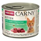 ANIMONDA cat konzerva Carny Kitten hovězí,kuře,králík