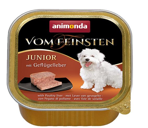 ANIMONDA dog paštika  JUNIOR - s drůbežími játry