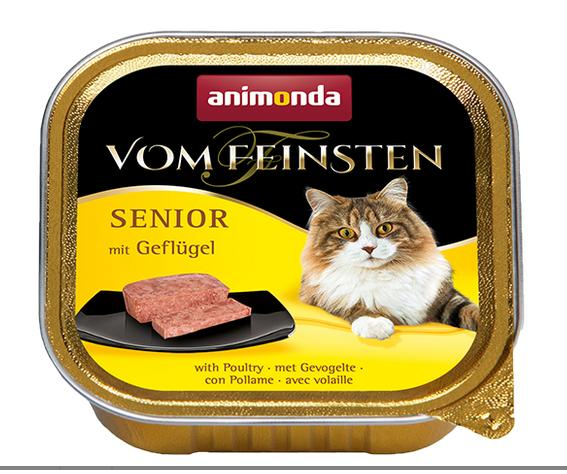 ANIMONDA cat paštika  SENIOR 100g - Jehněčí