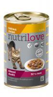 NUTRILOVE cat    konz. kousky
