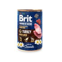 BRIT dog Premium by Nature TURKEY with LIVER