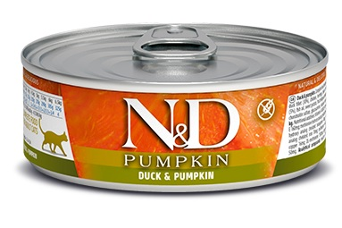 Namp;D cat  konz.  PUMPKINDUCK - 12 x 80g