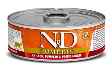 Namp;D cat  konz. PUMPKIN chickenPOMEGRANATE - 12 x 80g