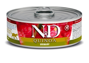 Namp;D cat  konz.  QUINOA urinary - 12 x 80g