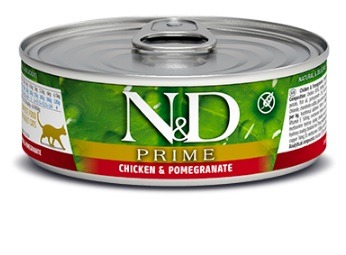 Namp;D cat  konz. PRIME chickenPOMEGRANATE - 12 x 80g