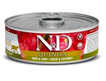 Namp;D cat  konz. QUINOA duckCOCONUT - 12 x 80g