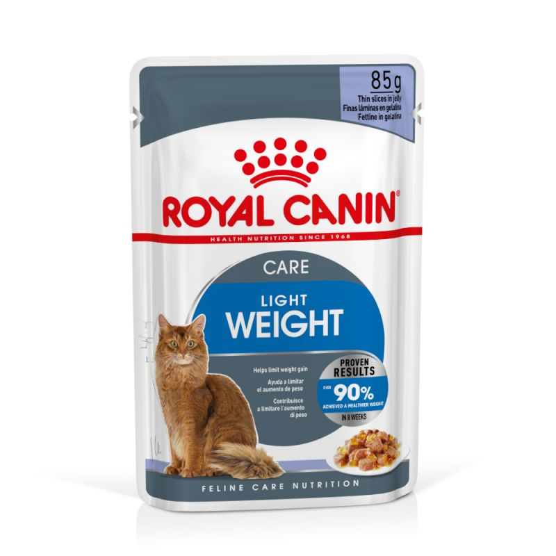 Royal Canin LIGHT - kapsička pro kočky s nadváhou v želé - 85g