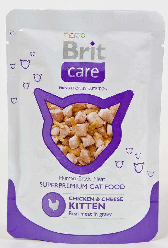 BRIT CARE cat kapsa KITTEN - 80g