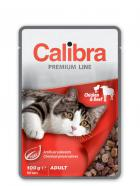 CALIBRA cat  kapsa ADULT  CHICKEN/beef