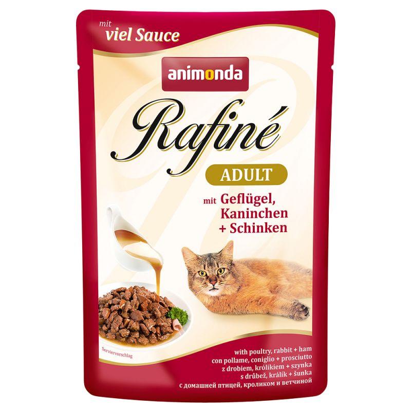 ANIMONDA cat kapsa Rafiné  100g - Drůbež v krémové omáčce