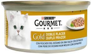 PURINA GG double pleasure MOŘSKÉ ryby/špenát v sosu konzerva - 85g