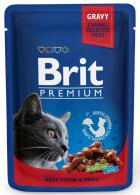 BRIT cat   kapsa   ADULT 100g